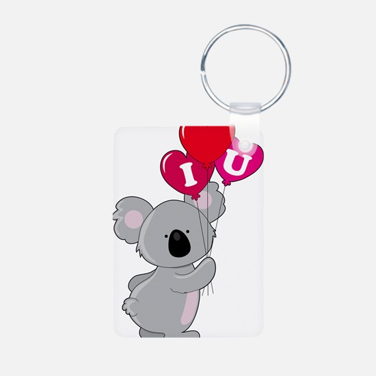 Koala Loves You Keychains