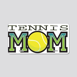 Tennis Mom Aluminum License Plate