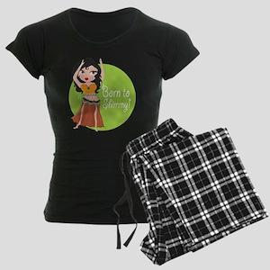 Born to Shimmy! Women's Dark Pajamas