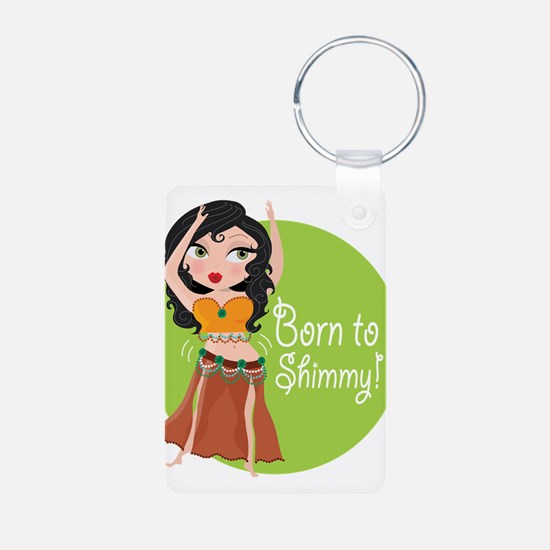 Born to Shimmy! Keychains