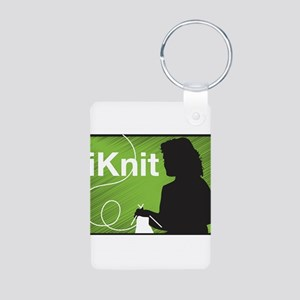 iKnit Aluminum Photo Keychain