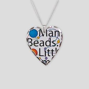 So Many Beads.. Necklace Heart Charm