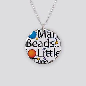 So Many Beads.. Necklace Circle Charm