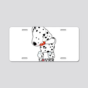 Dalmatian Lover Aluminum License Plate