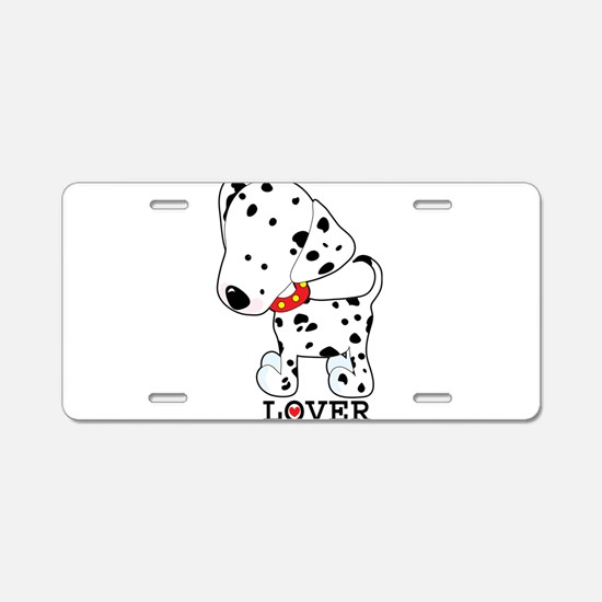 Dalmatian Lover Aluminum License Plate