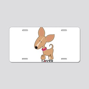 Chihuahua Lover Aluminum License Plate