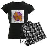 Mutts Do It Women's Dark Pajamas