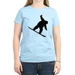 Snowboarding Women's Light T-Shirt