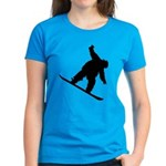 Snowboarding Women's Dark T-Shirt