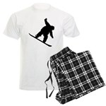 Snowboarding Men's Light Pajamas