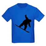Snowboarding Kids Dark T-Shirt