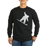 Snowboarding Long Sleeve Dark T-Shirt