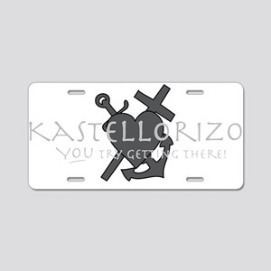Kastellorizo..... Aluminum License Plate