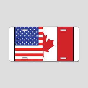 USA/Canada Aluminum License Plate