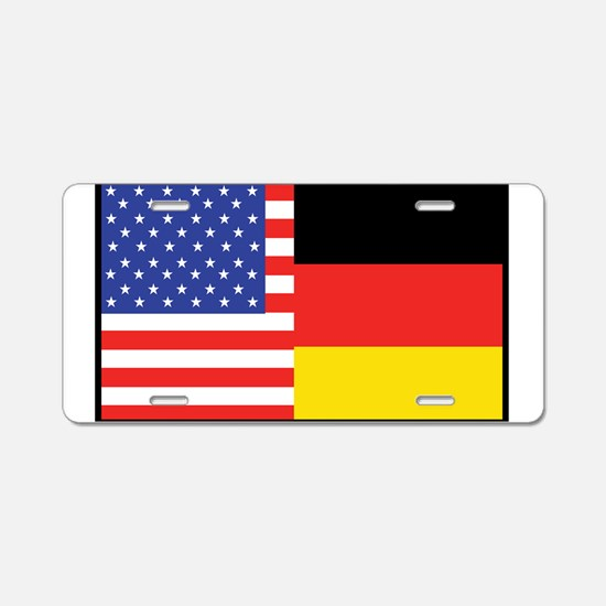 USA/Germany Aluminum License Plate