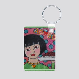 Have Some Adobo Aluminum Photo Keychain