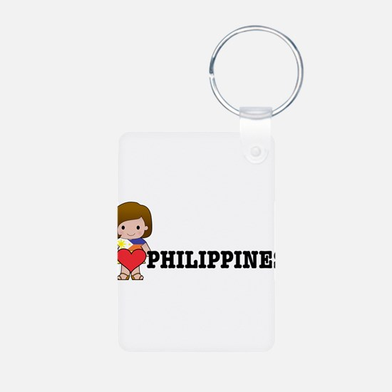 I love Philippines Keychains