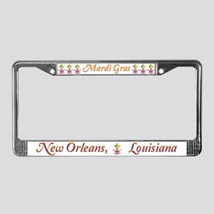 Fleur de love License Plate Frame