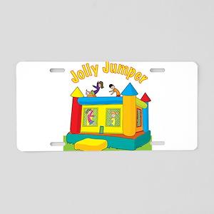 Jolly Jumper Aluminum License Plate