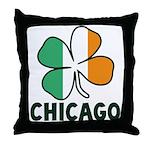 Irish Chicago Throw Pillow