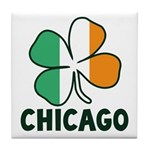Irish Chicago Tile Coaster