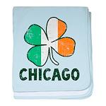 Irish Chicago baby blanket