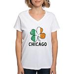 Irish Chicago Women's V-Neck T-Shirt