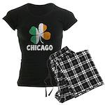Irish Chicago Women's Dark Pajamas