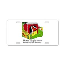 Horse People Aluminum License Plate