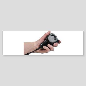 Holding Microphone Sticker (Bumper)
