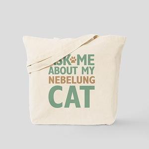 Nebelung Cat Tote Bag