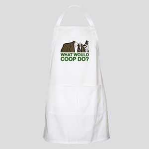What Would Coop Do? Apron