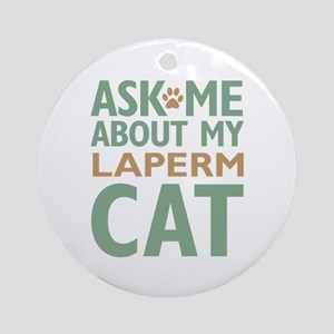 LaPerm Ornament (Round)