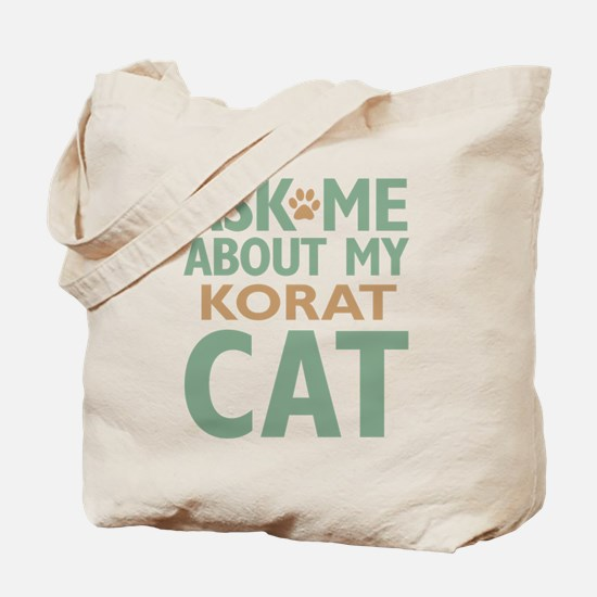 Korat Cat Tote Bag