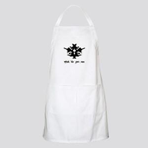 Ink Blot Test BBQ Apron