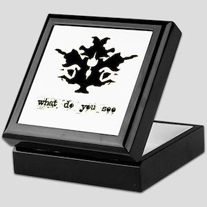 Ink Blot Test Keepsake Box