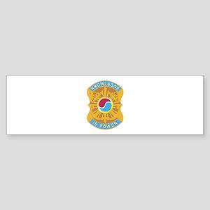 DUI - 163rd Military Intelligence Bn Sticker (Bump