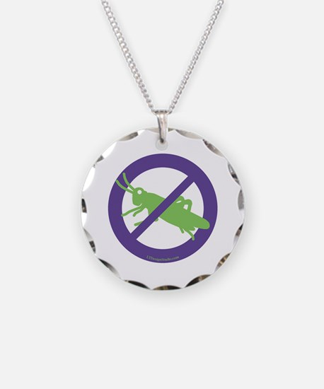 No Grasshoppers Necklace