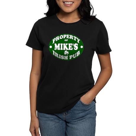 Mike's Irish Pub Women's Dark T-Shirt