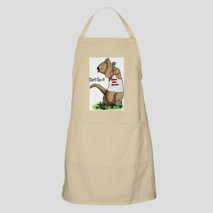 Kiss the Cook Ferret Apron