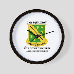 DUI - 2nd Sqdrn (LRS)(Abn) - 38th Cavalry Regt wi