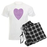 Purple Heart Light Pajamas