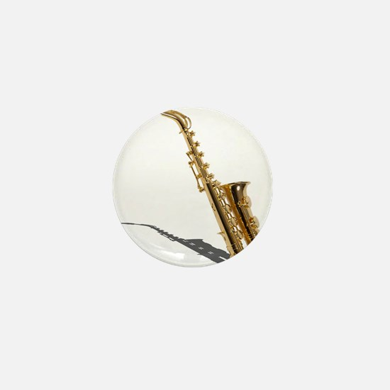 Saxophone Mini Button