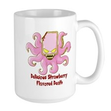 Strawberry Flavored Death Large Mug