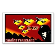 Combat Refuelers Sticker (Rectangle)