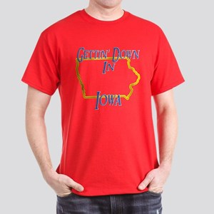 Gettin' Down in IA Dark T-Shirt