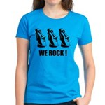 Easter Island: We Rock Women's Dark T-Shirt