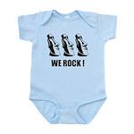 Easter Island: We Rock Infant Bodysuit