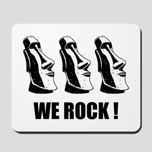 Easter Island: We Rock Mousepad