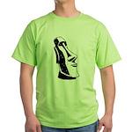 Easter Island Head Green T-Shirt